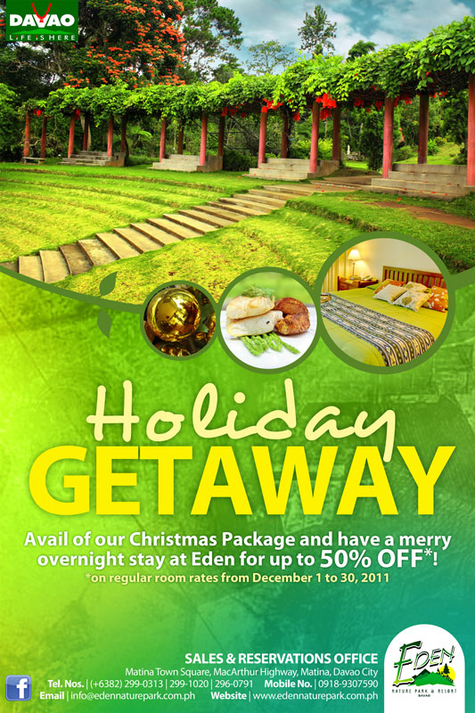 Holiday Christmas Brochure