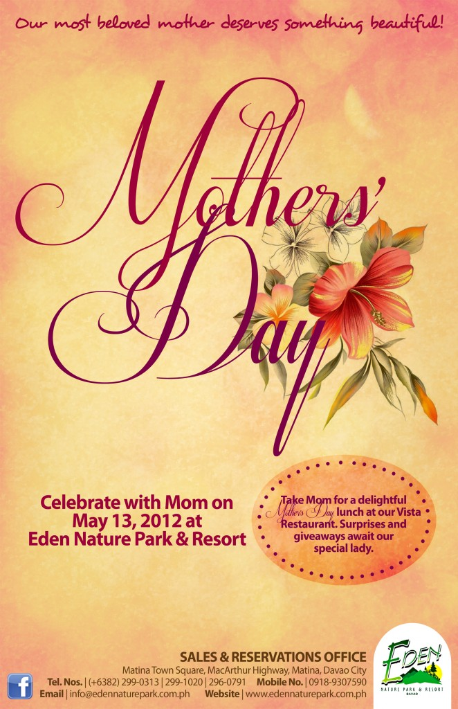 Mothers' Day 2012 | Eden Nature Park & Resort